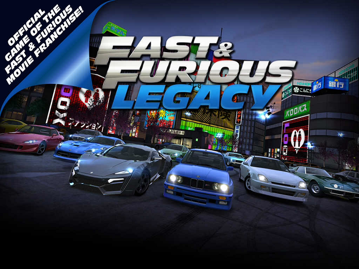 Fast & Furious: Legacy Free App Game By
