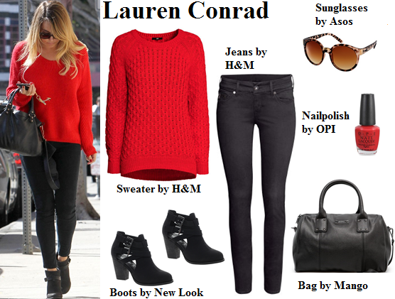 lauren conrad, sweater, fall, boots