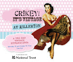 CRIKEY IT&#39;s VINTAGE FAIR at KILLERTON HOUSE, near EXETER