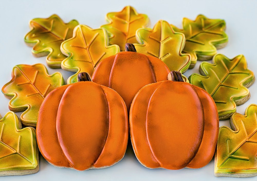 Galletas decoradas otoño