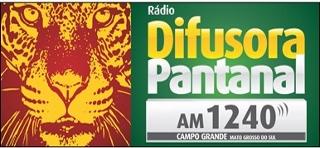 Rádio Difusora Pantanal AM de Campo Grande MS ao vivo