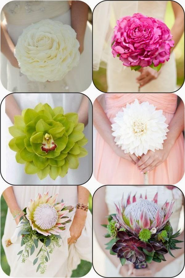 Bouquet con flor gigante