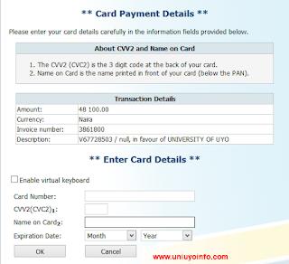 http://uniuyoinfo.com/2016/01/22/how-to-pay-uniuyo-school-fee-using-remita/