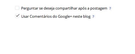 Caixa de comentários google plus está liberada - GNVision