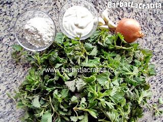 Mancare de urzici cu usturoi ingrediente reteta