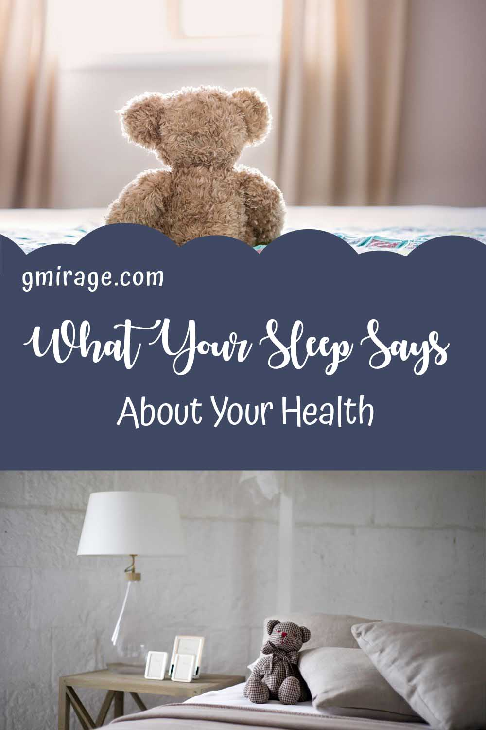 What Your Sleep Says About Your Health, bear bed