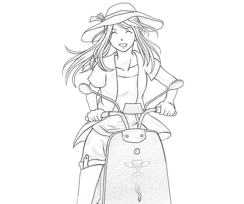 fullmetal-alchemist-winry-rockbell-summer-coloring-pages