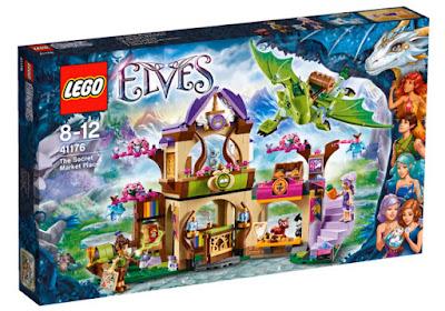 TOYS : JUGUETES - LEGO Elves  41176 Mercado Secreto  The Secret Market Place  Producto Oficial 2016 | Piezas: | Edad: 8-12 años  Comprar & buy Amazon USA