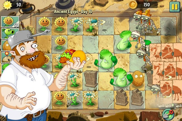 crazy dave of plants vs zombies