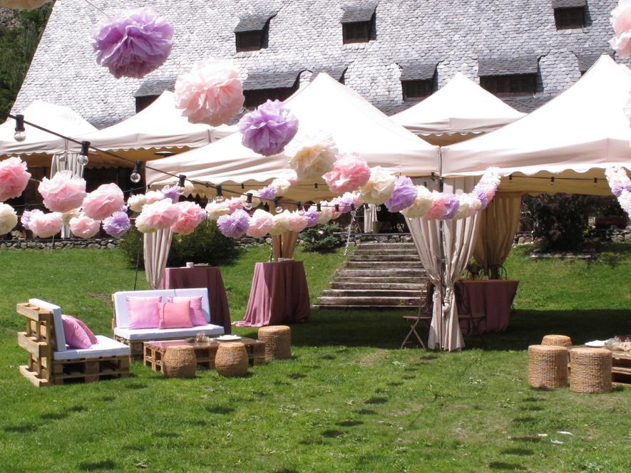Alquiler decoracion bodas salones de fiestas for Casa y jardin tienda