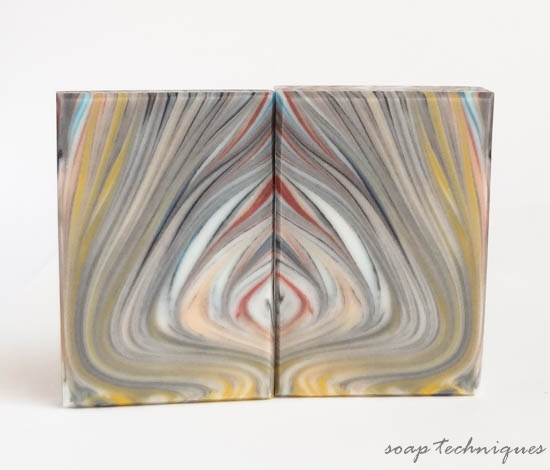 Soap Challenge Spinning Swirl - Fordite