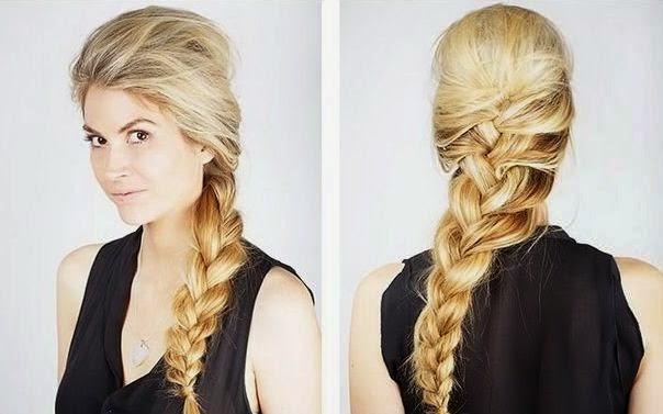 C mo hacer una trenza sencilla y bonita belleza y peinados - Como hacer trenzas sencillas ...