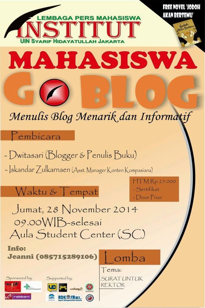 Mahasiswa GO BLOG