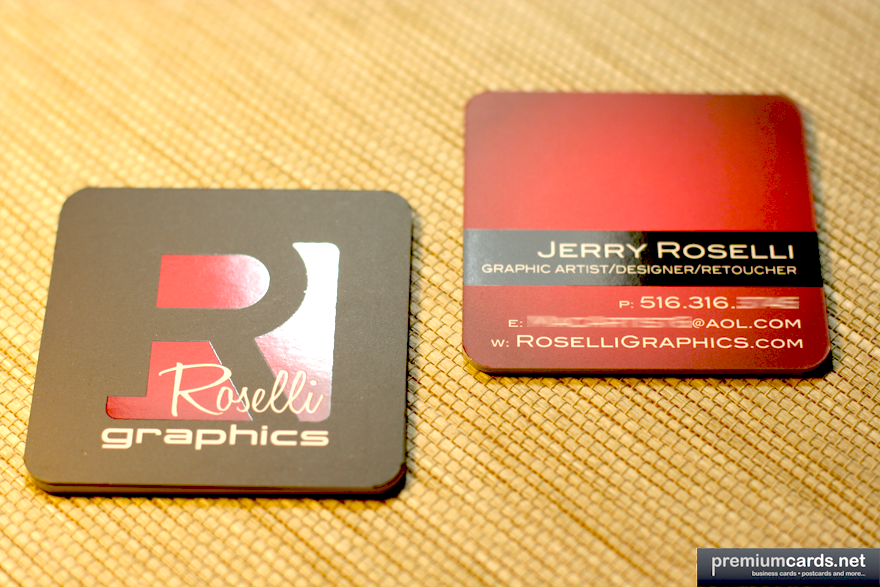 Twenty two Revisions Business Card Design The art of