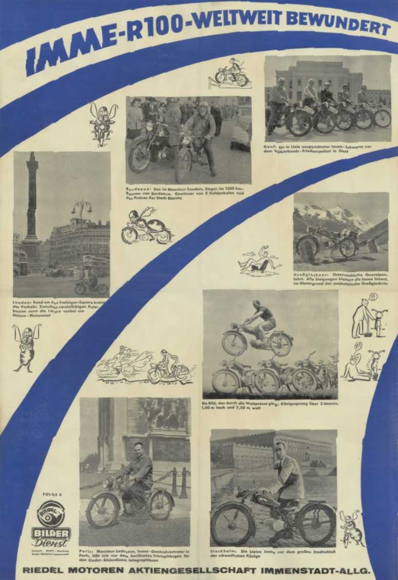 Imme R100 Motorcycle Brochure