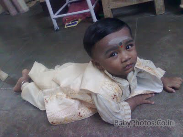 Cute Indian Baby Pictures 002