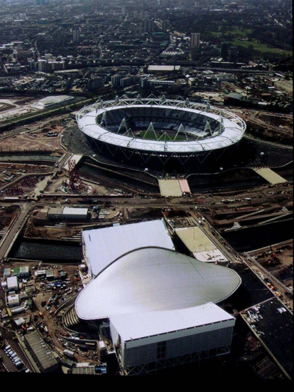 Por qu londres ya gan con las olimpiadas 2012 for Albercas desarmables