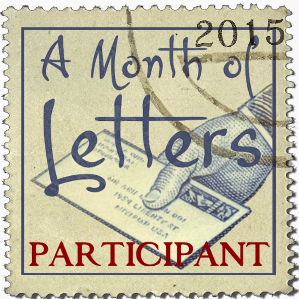 Month of Letters 2015