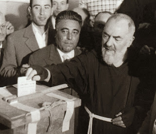 Padre Pio voting