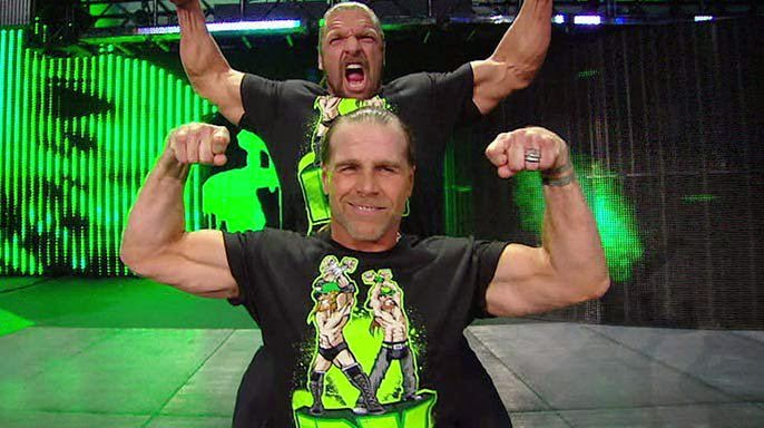 dx wwe triple h