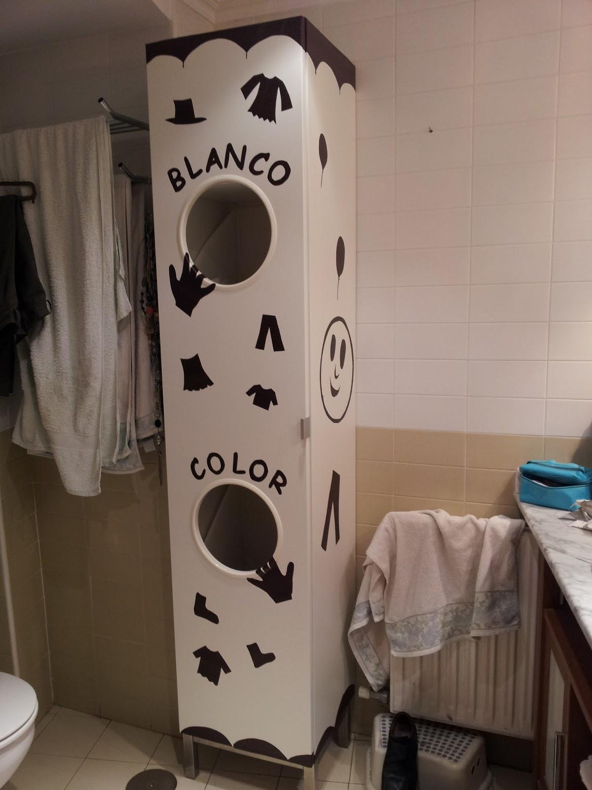 Un armario para la ropa muy original mi llave allen - Como forrar un armario con tela ...