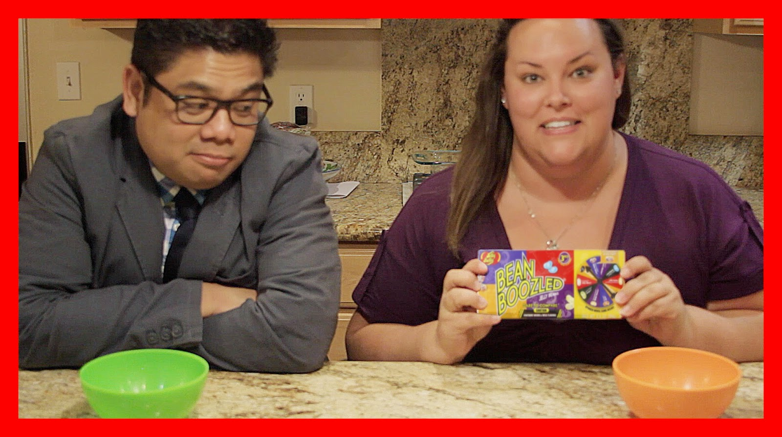 #BattenVEDA Day 21 Co-Vlogging Bean Boozled Challenge