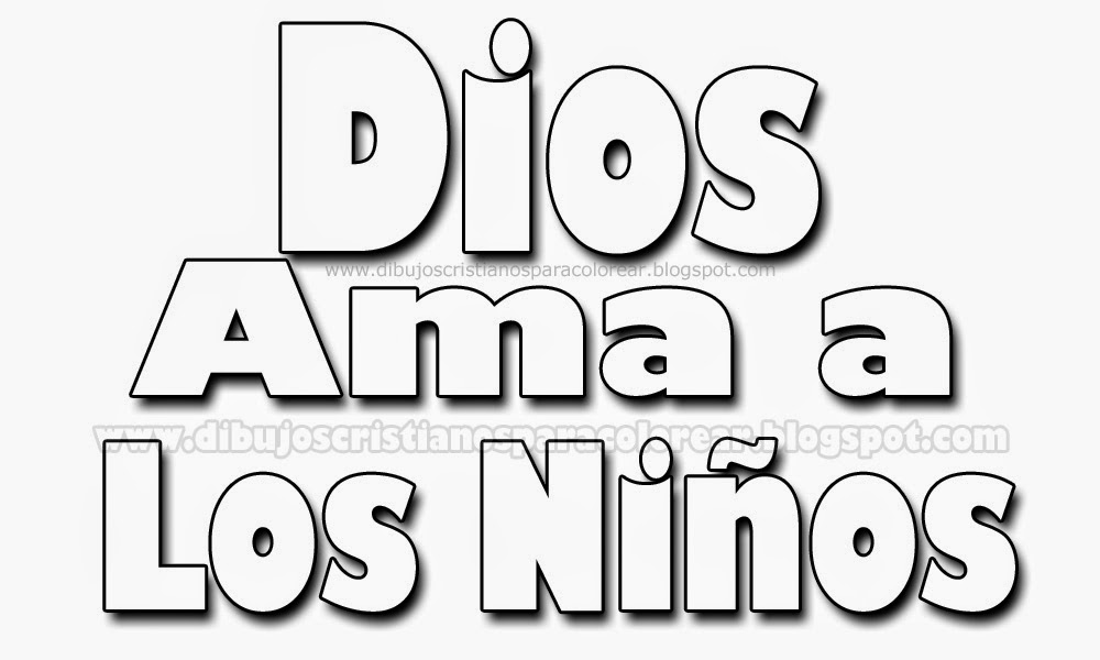 Dibujos Para Colorear Cristianos Ninos | newhairstylesformen2014.com
