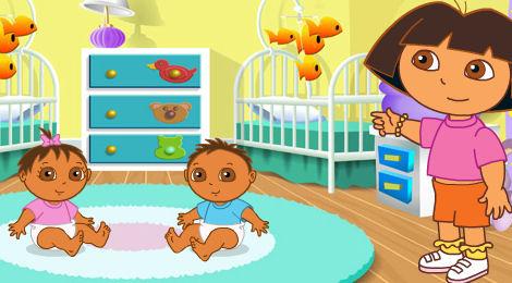 juego cuidar bebe: