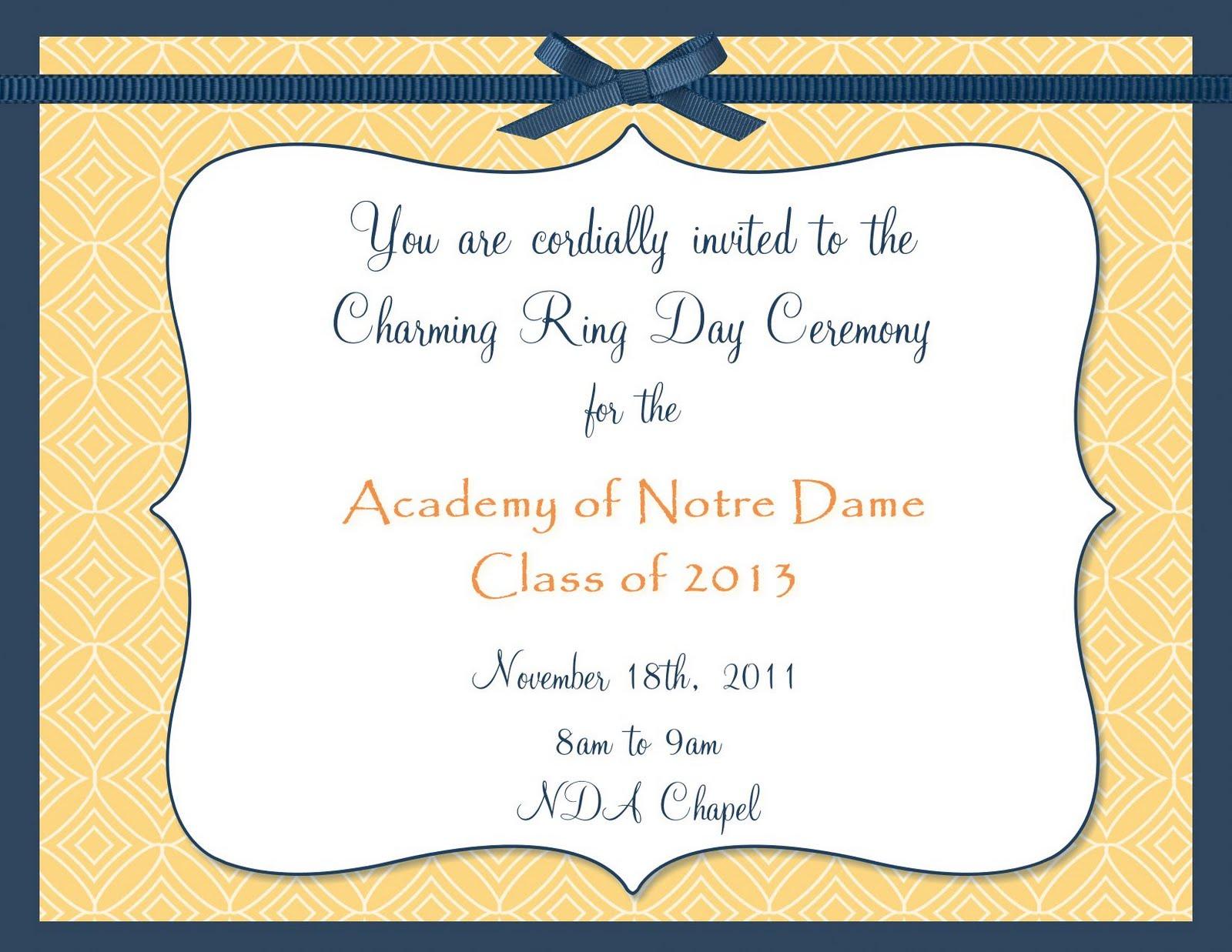 Graduation Invitation Sayings as best invitations layout