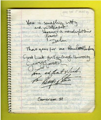 Meet the beatles for real wednesday reviews john lennons tooth the beatles autograph for david goggin take from the book john lennons tooth fandeluxe Epub