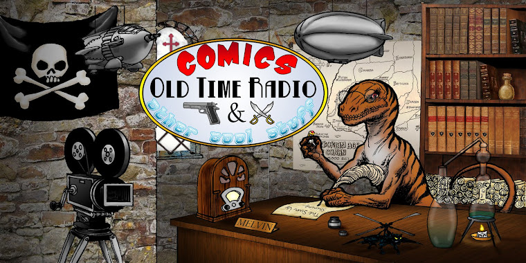 Comics, old time radio and other cool stuff