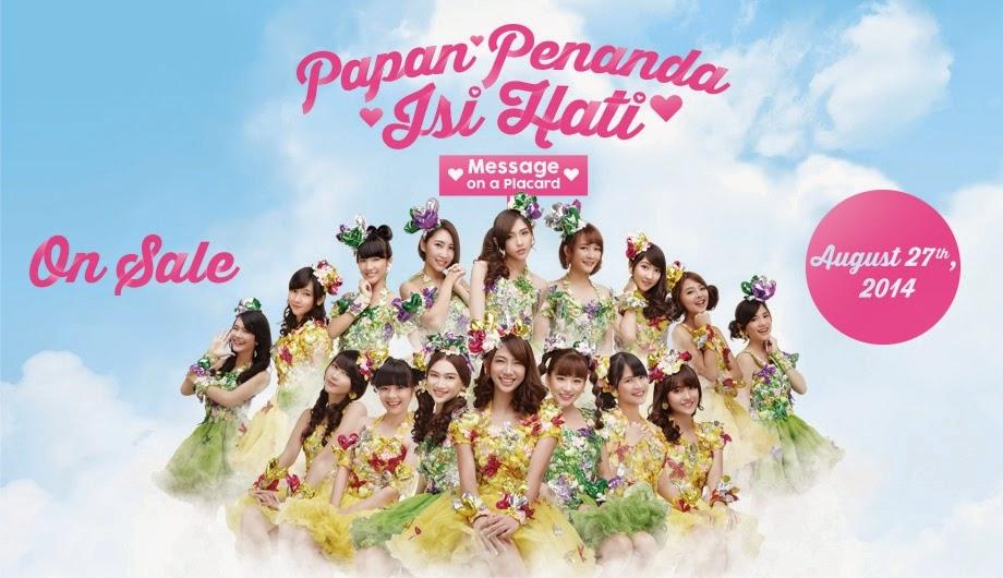 Lirik Lagu JKT48 - Kokoro no Placard (Papan Penanda Isi Hati)