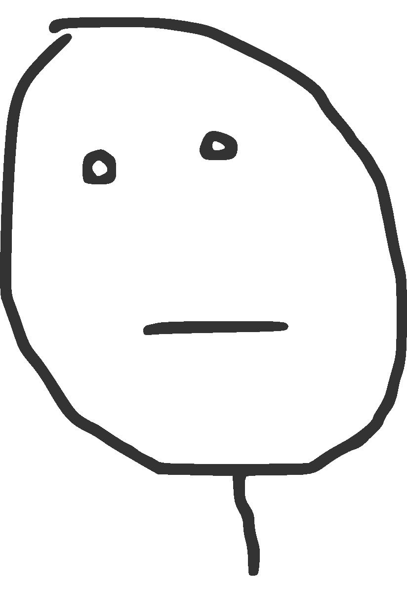 Meme poker face