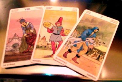 Tirada de 3 cartas para Libra Diciembre 2012