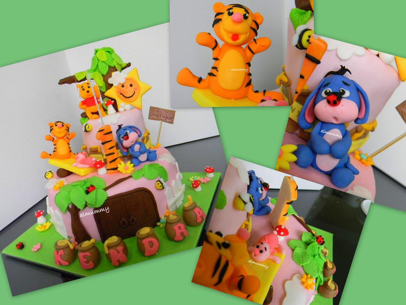 Aimummy Kendras Pooh Playground Cake