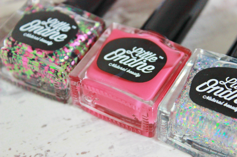 Little Ondine Peel-off nail polish review - bottle close up