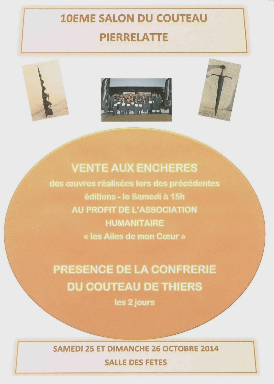 Salon du couteau d 39 art de pierrelatte for Salon du couteau paris