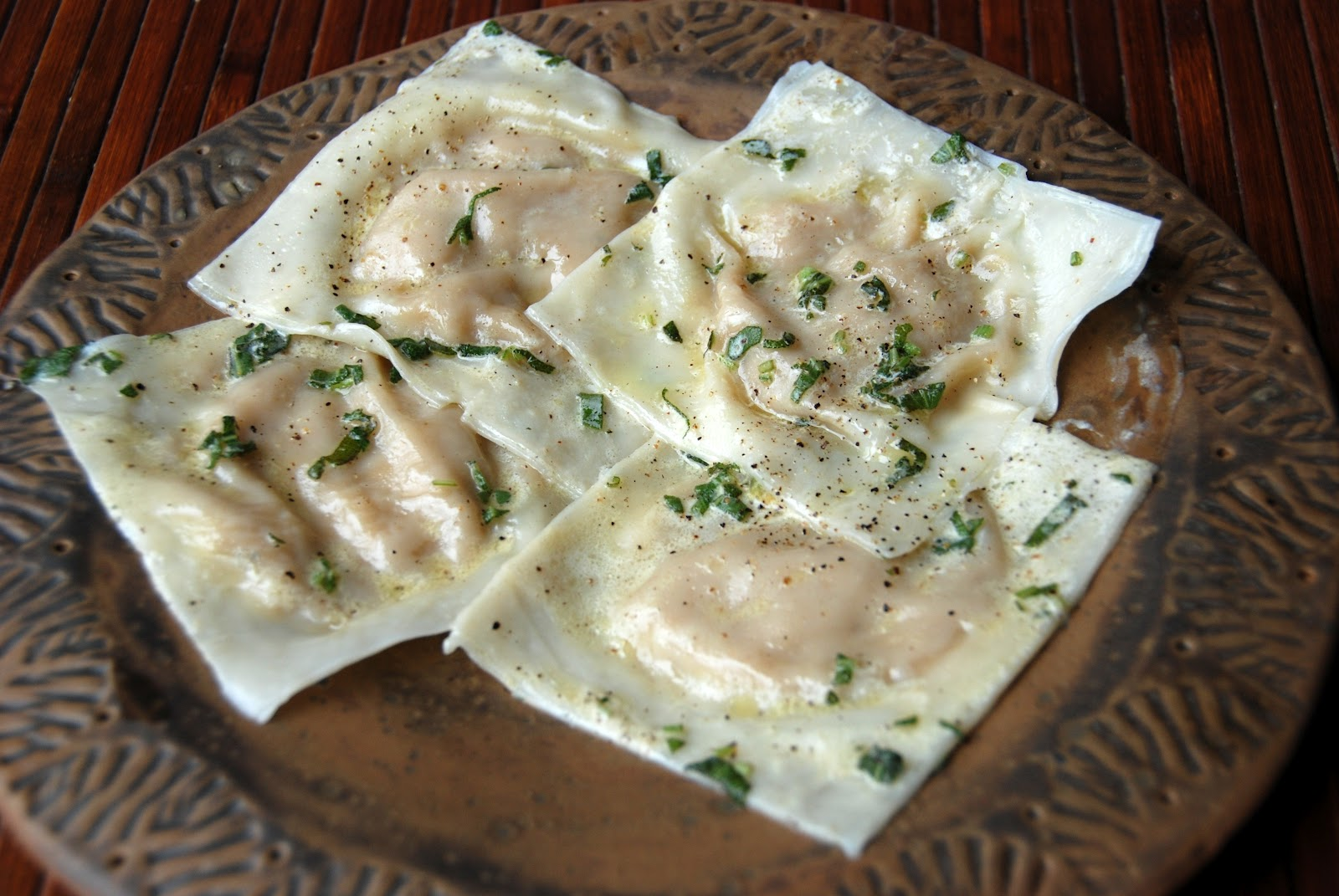 ... kitchen: Butternut Squash Ravioli with Sage-Brown Butter Cream Sauce