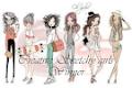 2 x Creative Sketchy Girls Winner
