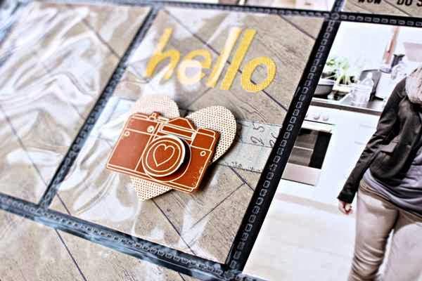 American Crafts - Amy Tangerine - Dimensional Stickers Hi Friend