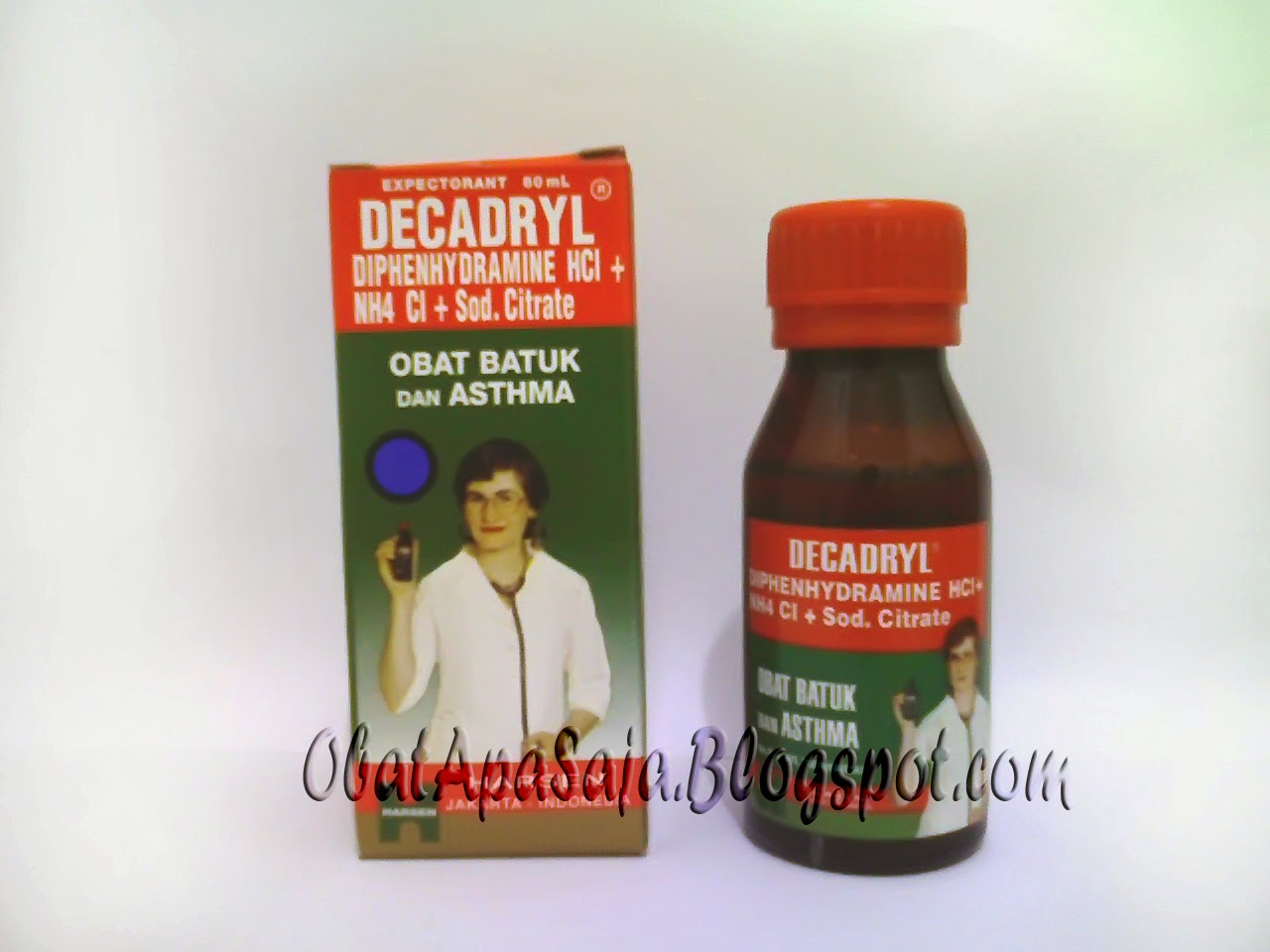 Decadryl obat batuk dan asma