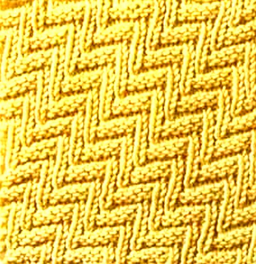Knitting Galore: Saturday Stitch: Rib and Welt Stitch