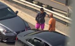 Toronto road rage caught on camera