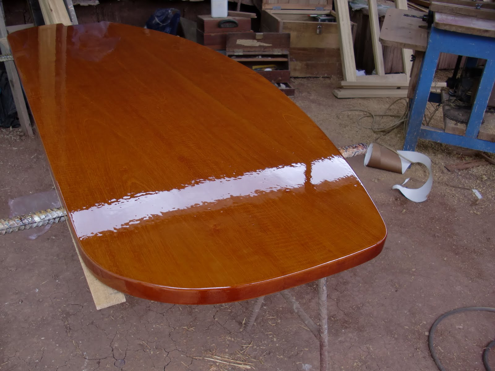 Decoraciones manualidades en madera como barnizar la - Pintar sobre barniz ...