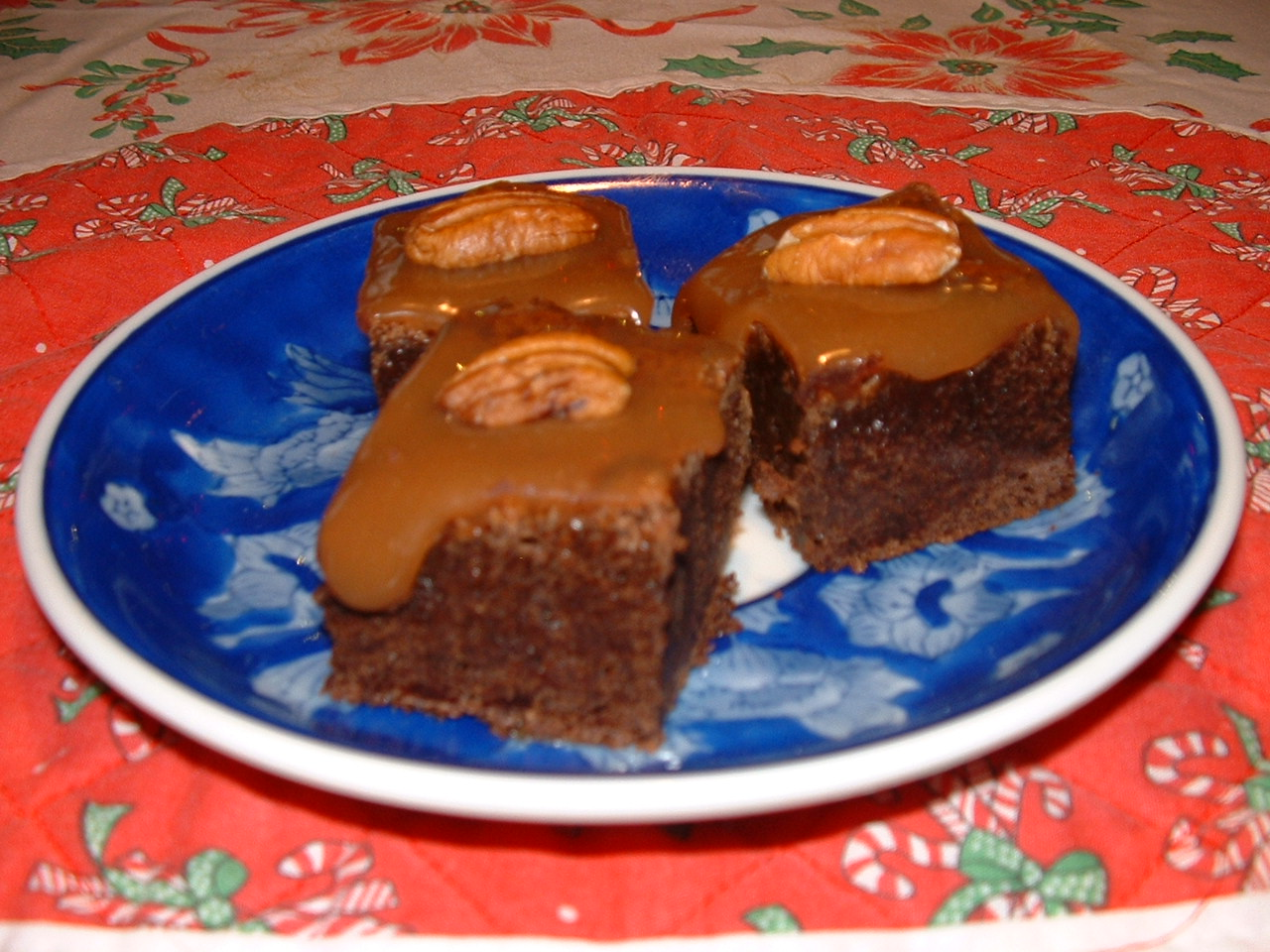Feed Your Mind: Day 3: Pecan Turtle Brownies