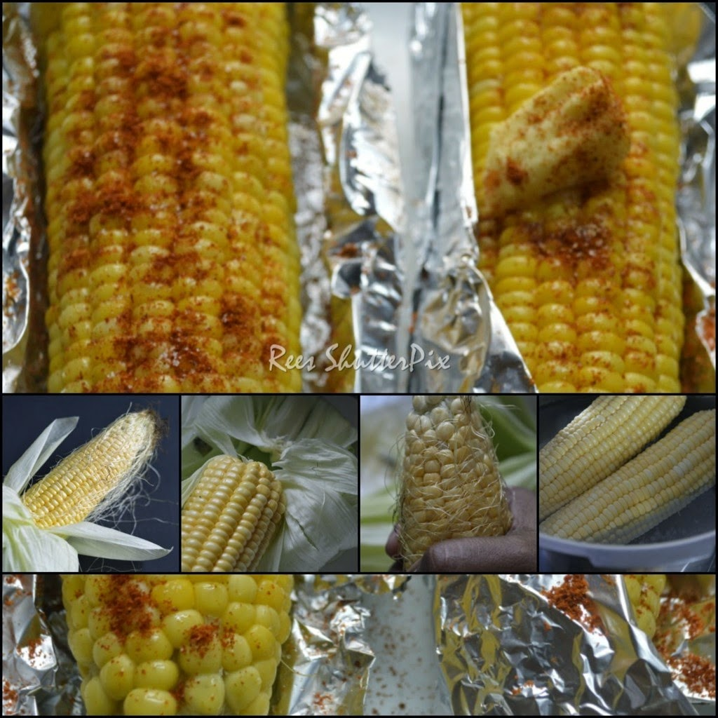 boiled corn, stove top grilled corn, roadside sweet corn recipe