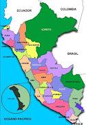 Mapa del Perú (mapa del peru xxi)