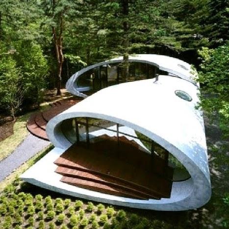 Des maisons ecologiques elles respectent l 39 environnement et belles a regarder - Maison de l ecologie ...