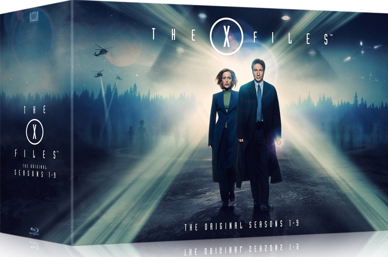 The Wertzone: THE X-FILES complete series Blu-Ray set announced