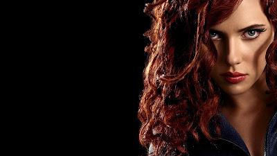 Black Widwo Scarlett Johansson Wallpaper